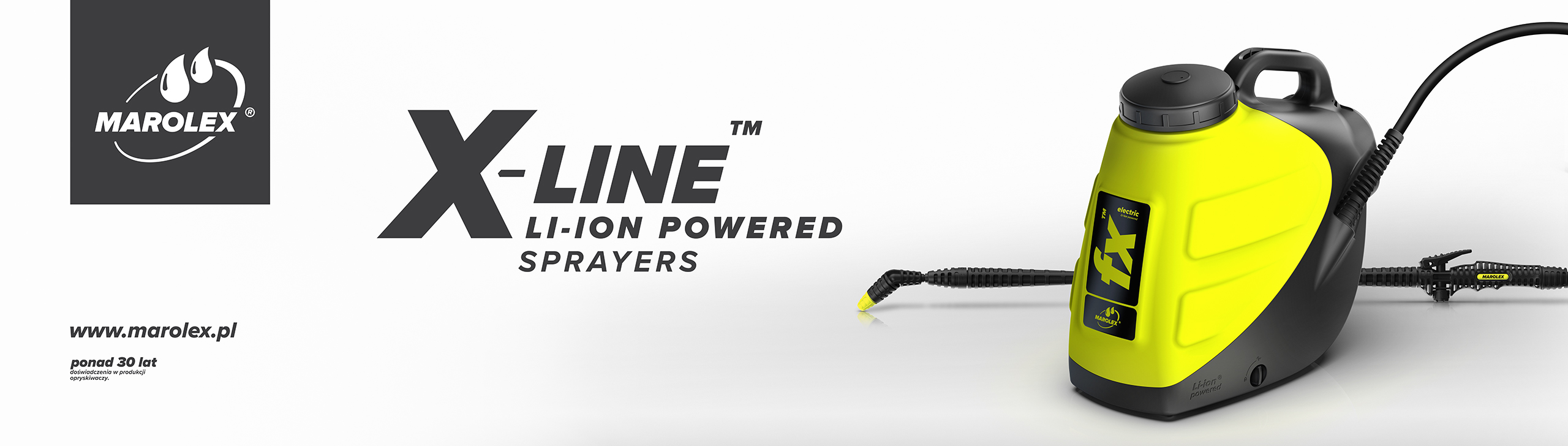 marolex fx x-line electric sprayer
